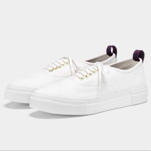 Eytys White Mother Canvas Shoes Size 9 Sneakers